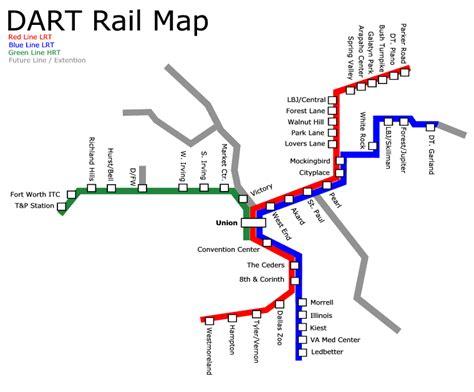 dart map world nycsubway org dart dallas area rapid transit