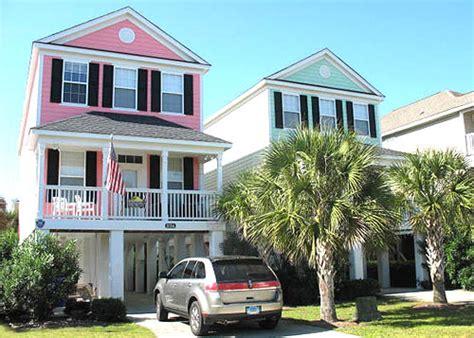 Surfside Beach Houses Oceanfront Beach Houses In