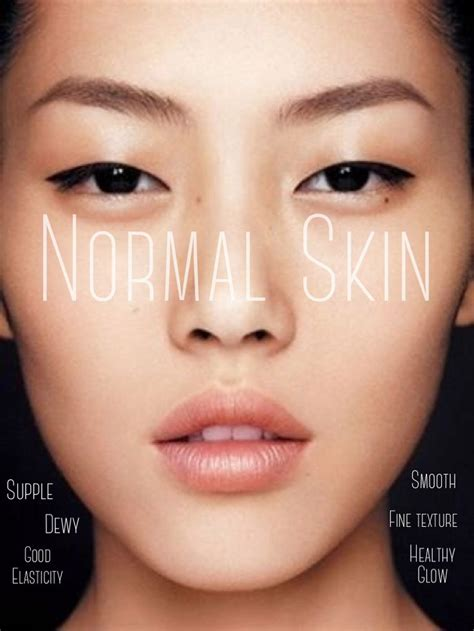 appearance of a 58 female normal skin normal skin type characteristics ethereal aromatherapy