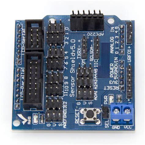 Sensor Shield V5 For Arduino Uno arduino sensor shield v5 rima labs