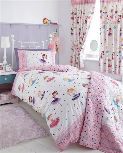 Bed Cover Set 180x200 T3010 5 bedding pink duvet sets flowers hearts horses owls