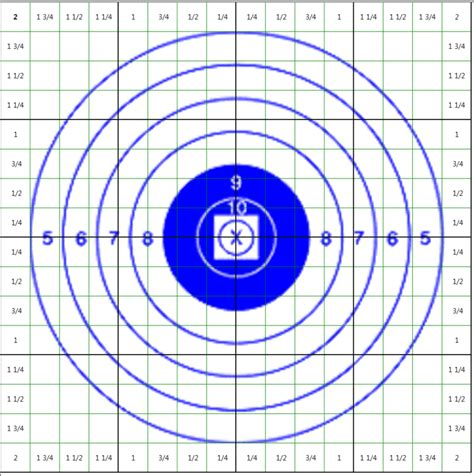 free printable moa targets 1000 yd moa target to adjust scope