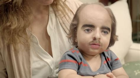 strange hairlines woman directv introduces advertising s weirdest looking baby yet