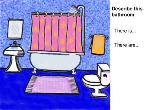 Describing A Bathroom In Describing A House