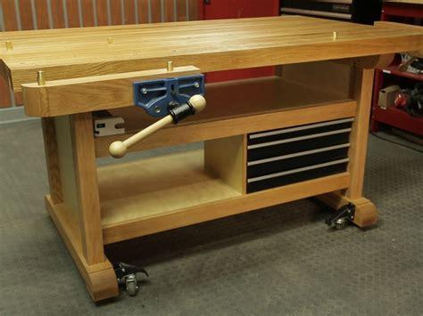 custom woodworking bench custom workbench