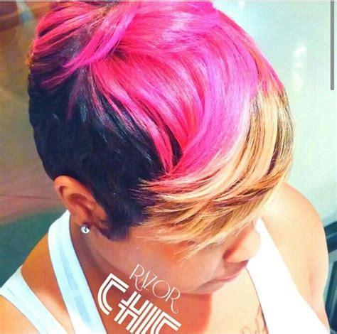 razor haircuts in atlanta ga razor chic of atlanta cut curl dye pinterest