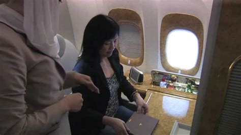 emirates youtube first class emirates airline first class brisbane to cairo boeing