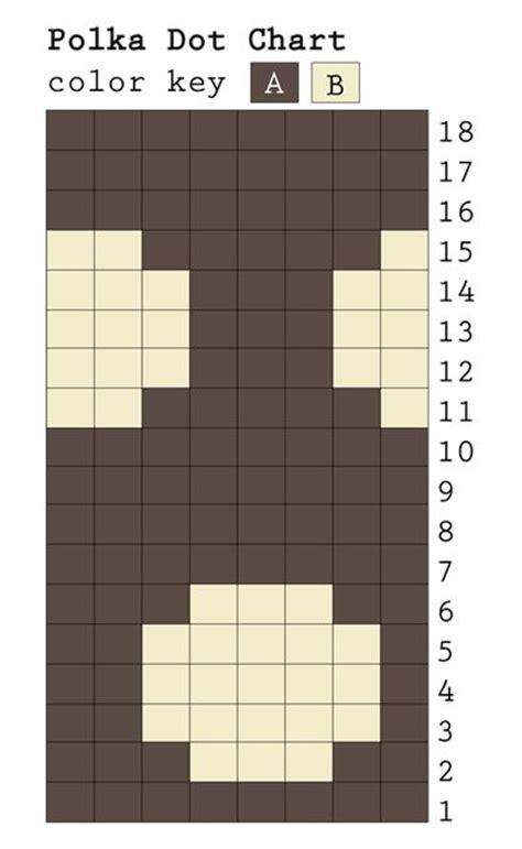 dot pattern test chart best ideas about knitting motif s knitting block and