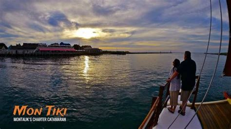montauk boat cruise sailing montauk s catamaran mon tiki ny top tips before