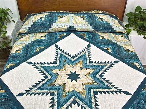feathered log cabin quilt great ably made amish