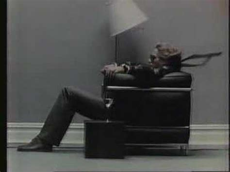 Sitting In Chair In Front Of Speaker by Classic Maxell Commercial