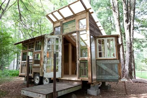 Small House Kits New York 127 Square Foot Tiny House In The Catskills Fits Three For