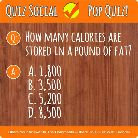 how many calories are in a how many calories in a pound of quiz social