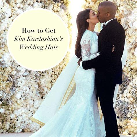 kim k wedding hair how to get kim kardashian s wedding hair beauty board