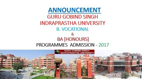 Dtu Mba 2017 by Dtu Bba And Ba Honours Economics Admission 2017 18 Www