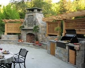 outdoor bbq beautiful homes design