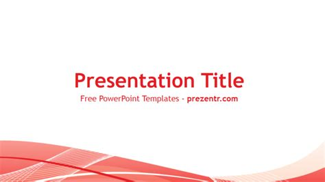 powerpoint templates free red free red lines powerpoint template prezentr powerpoint