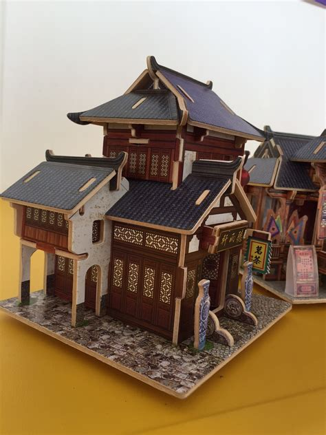 chinese tea house 1 144 scale chinese buildings letters from roz