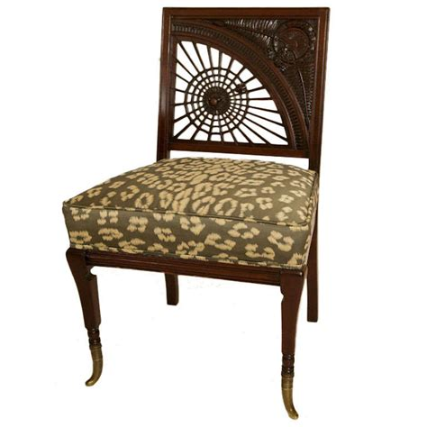 Aesthetic Chair by Carved Mahogany Aesthetic Movement Quot Spider Quot Chair At 1stdibs