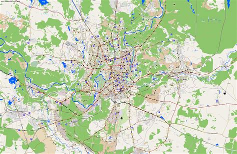 a map city maps vilnius