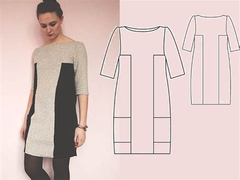 Patron De Robe Facile Gratuit à Télécharger - patron couture robe gratuit a telecharger