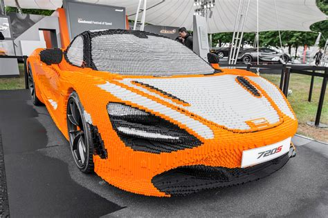 Size Lego Mclaren 720s Unveiled At Goodwood Urdesignmag