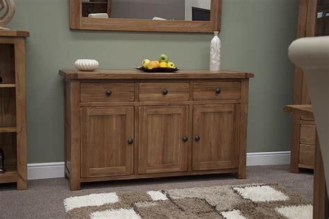 tilson solid rustic oak dining living room furniture large storage sideboard ebay