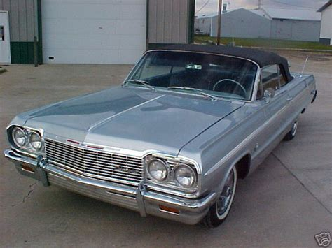 silver 64 impala 1964 impala ss convertible silver 2 xframechevy