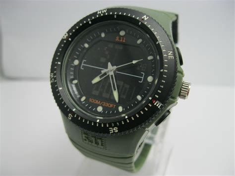 5 11 Tactical Dual Time watches dual time tactical watches