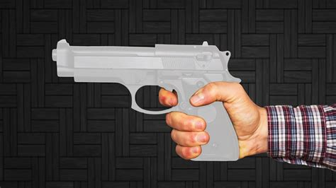How To Make A Paper Pistol - how to make a paper gun that shoots