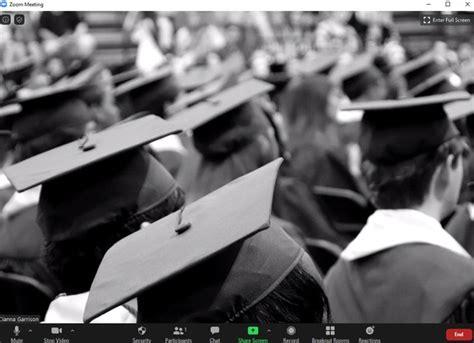 graduation zoom backgrounds  upgrade  remote celebration