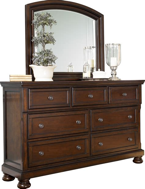 ashley furniture bedroom dressers porter dresser and mirror by ashley furniture bedroom set