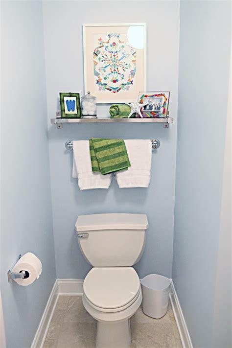 Bed Bath Beyond Shower Caddy kid bathroom reveal bower power