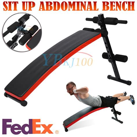 fitness sit up bench us ship adjustable sit up bench flat crunch board ab