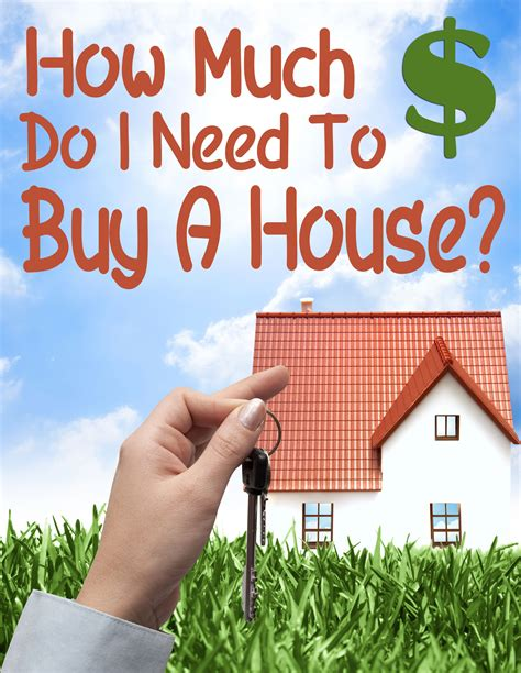 how much money is needed to buy a house how much money do i need to buy a house