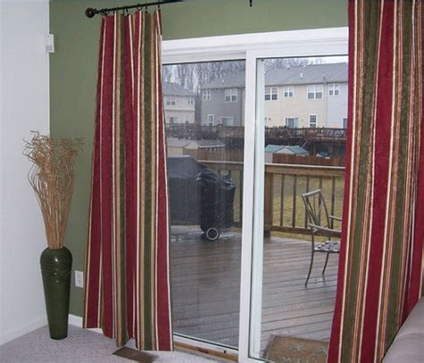 Sliding Glass Door Drapes Roselawnlutheran Sliding Glass Door Curtain