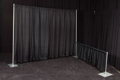 black pipe and drape products black velour drape pipe ops event rentals inc