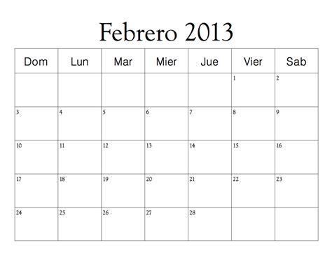 Calendario De Febrero Calendario Febrero 2013 De Donald Para Colorear Imagui