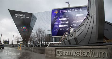 ultimate fan zone us bank stadium u s bank stadium primed for football s big game with