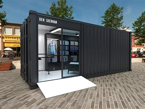 container store ben sherman container store on behance