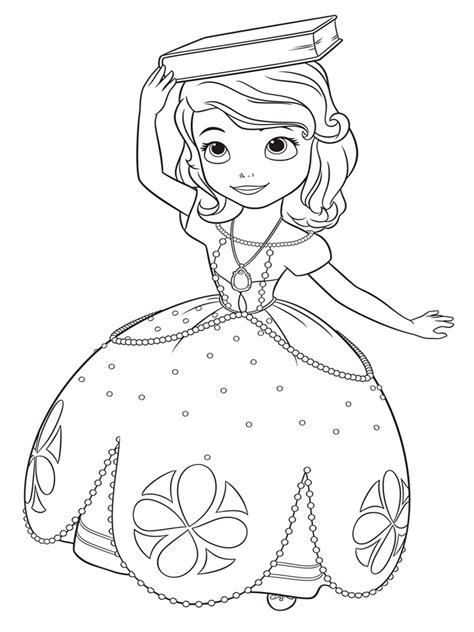 sofia coloring pages pdf sofia the first coloring pages free printable sofia the
