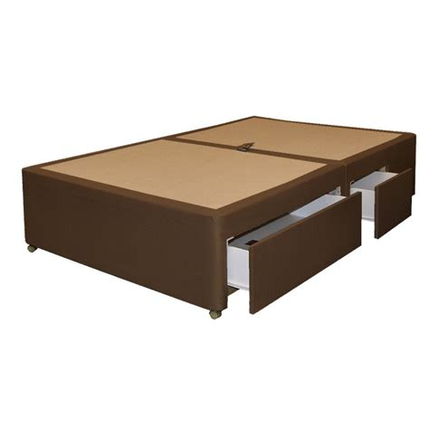 Divan Base With Drawers by 4 Drawer Divan Base