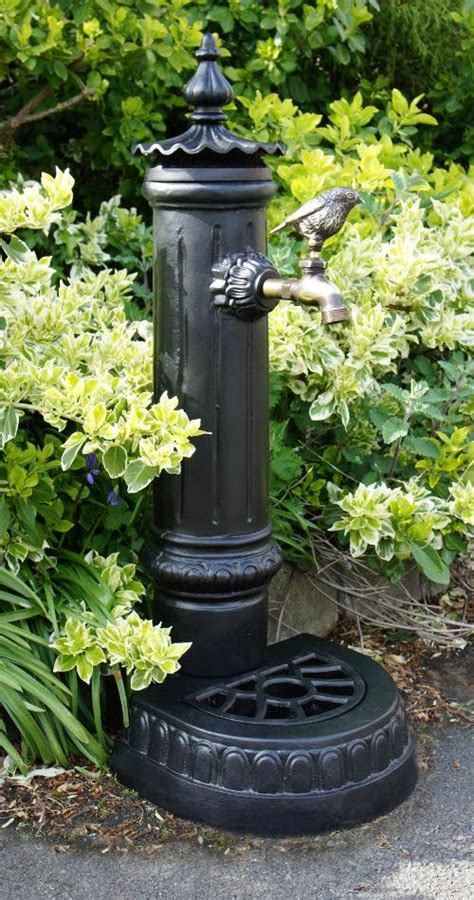pemberley garden faucet  tap stand black country