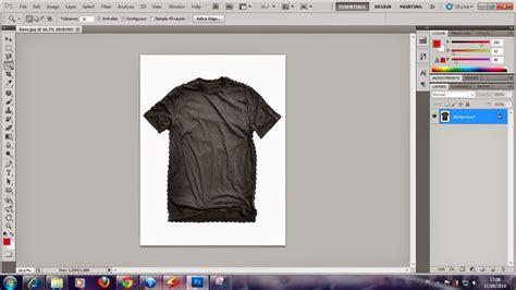 desain kaos menggunakan photoshop tutorial artikel tik 187 cara membuat gambar kaos pocong