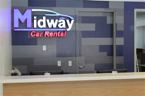 midway car rental officially moves  burbank airport
