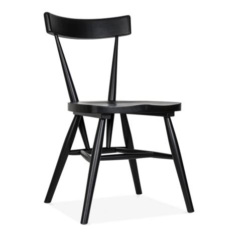 cult living trafik stackable dining chair in black cult uk