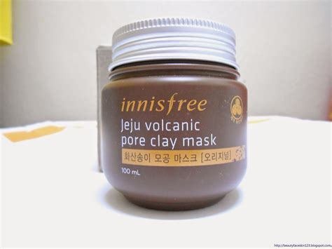Masker Innisfree Jeju Volcanic great skin nose pack