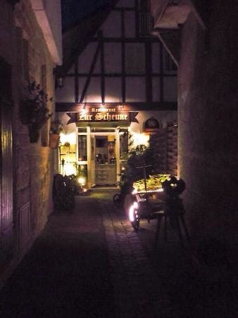 Restaurant Zur Scheune by Delicious Food And Wonderful Atmosphere Picture Of