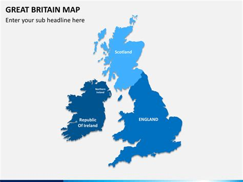 great britain map great britain uk map powerpoint sketchbubble