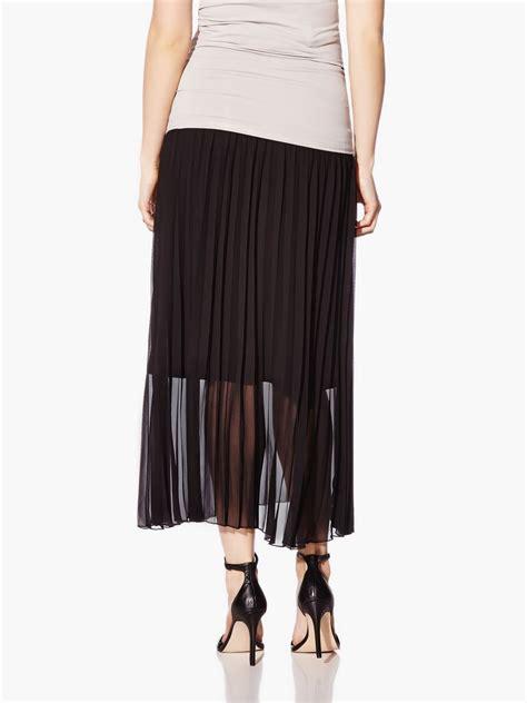 Pleated Maternity Skirt nepton pleated maternity maxi skirt thyme